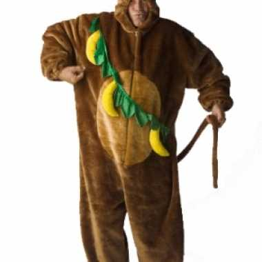 Apen outfit voor volwassenencarnavalskleding