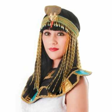 Arabische prinses hoofdtooi met kralencarnavalskleding