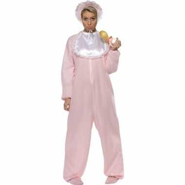 Baby outfit roze volwassenencarnavalskleding