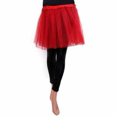 Ballet tule rokje rood voor meisjescarnavalskleding