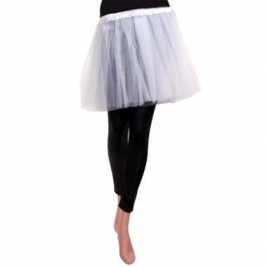 Ballet tule rokje wit voor meisjescarnavalskleding