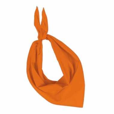 Bandana zakdoeken oranjecarnavalskleding