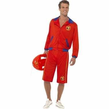 Baywatch verkleed kostuum voor herencarnavalskleding