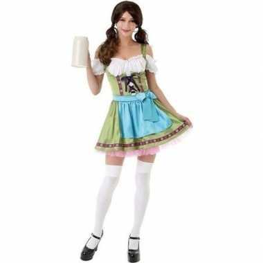 Beieren/oktoberfest kostuum groen voor damescarnavalskleding