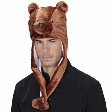 Beren feestmuts voor volwassenencarnavalskleding