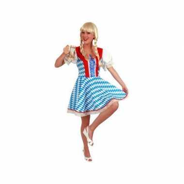 Bierfeest jurk met bavaria kleurencarnavalskleding