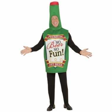 Bierfles kostuum voor volwassenen carnavalskleding