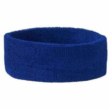 Blauwe hoofdbandjescarnavalskleding