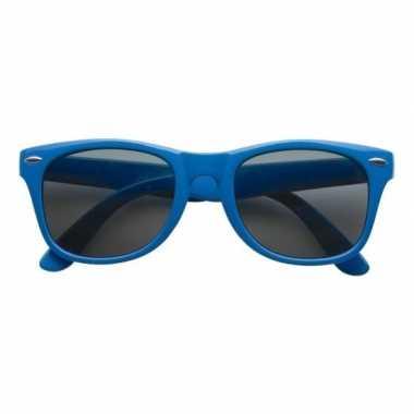 Blauwe toppers verkleedaccessoire bril voor volwassenencarnavalskledi