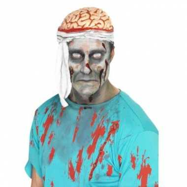 Bloederige hersenen hoedcarnavalskleding