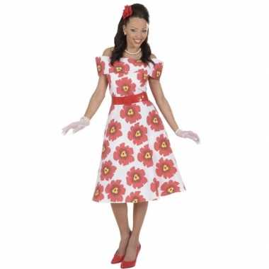 Bloemen jurk voor vrouwencarnavalskleding