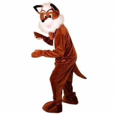 Bruin vossen kostuum voor volwassenencarnavalskleding