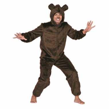 Bruine beer kostuum volwassenencarnavalskleding