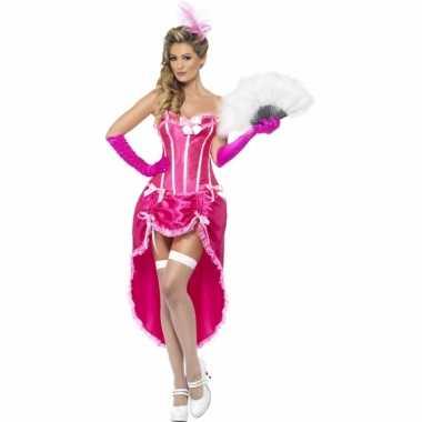 Burlesque thema jurk rozecarnavalskleding
