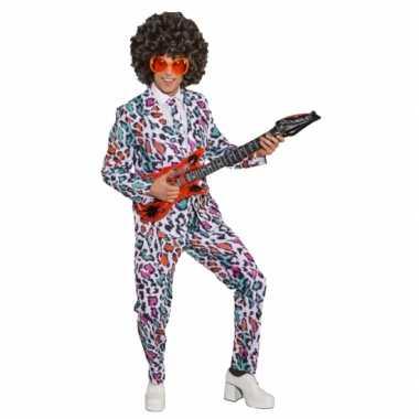 Business suit luipaard bontgekleurdcarnavalskleding