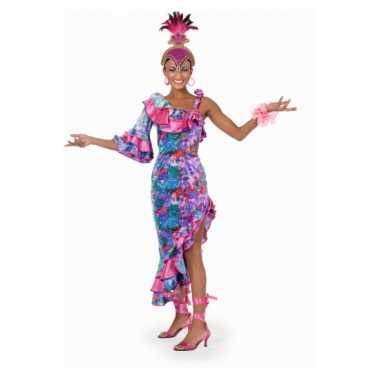Caribische dans jurkcarnavalskleding