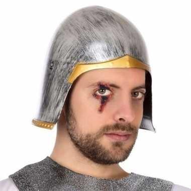 Carnaval accessoire ridder helm voor herencarnavalskleding