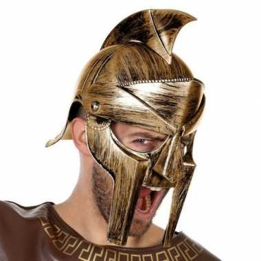 Carnaval accessoire romeinse helm voor herencarnavalskleding