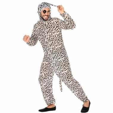 Carnaval dieren kostuum dalmatier hond voor volwassenencarnavalskledi