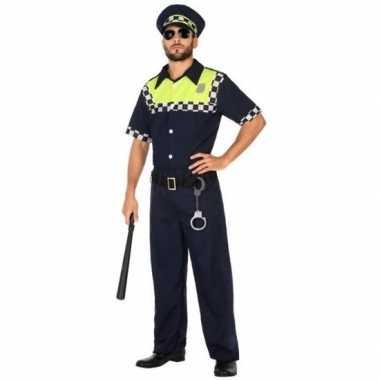 Carnaval engelse politie verkleedkleding voor volwassenencarnavalskle