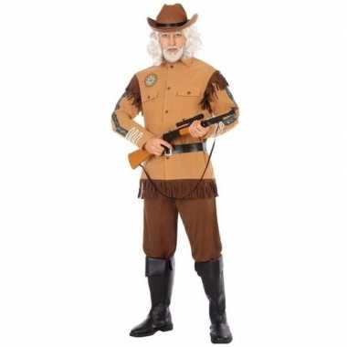 Carnaval/feest amerikaanse ranger/sheriff/cowboy verkleedoutfit voor