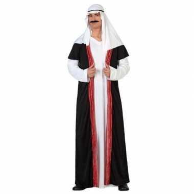 Carnaval/feest arabische prins/sjeik verkleedoutfit voor herencarnava