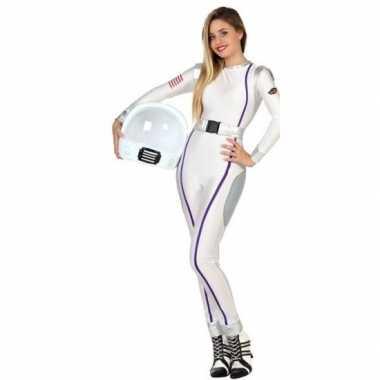 Carnaval feest astronauten verkleed outfit voor dames carnavalskleding