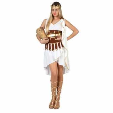 Carnaval/feest griekse/romeinse godinnen verkleedoutfit voor damescar