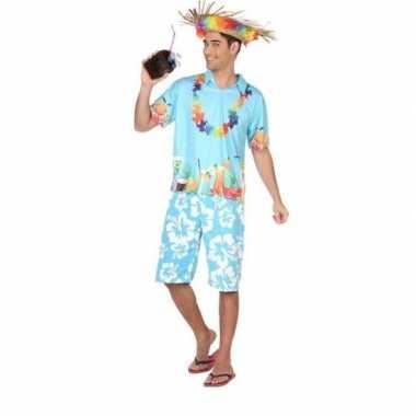 Carnaval/feest hawaii verkleedoutfit voor damescarnavalskleding