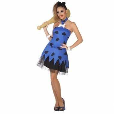 Carnaval/feest holbewoonster betty oertijd betty oertijd verkleedoutf