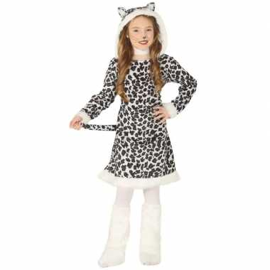 Carnaval/feest luipaard verkleed outfit voor meisjescarnavalskleding
