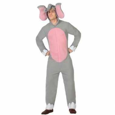 Carnaval/feest olifant verkleed outfit voor volwassenencarnavalskledi