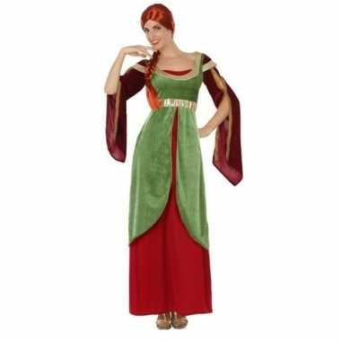 Carnaval/feest prinses verkleedoutfit voor damescarnavalskleding