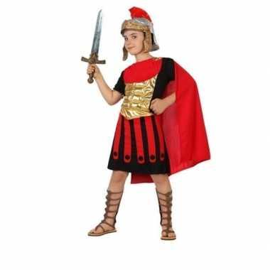 Carnaval/feest romeinse gladiator/soldaten verkleedoutfit marius voor