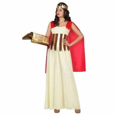 Carnaval/feest romeinse/griekse vrouw aurelia verkleedoutfit voor dam