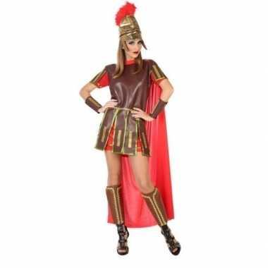 Carnaval/feest romeinse soldaat/strijder verkleedoutfit felicia voor