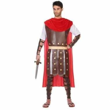 Carnaval/feest romeinse soldaat/strijder verkleedoutfit marcus voor h