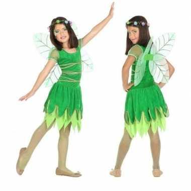 Carnaval/feest toverfee verkleedoutfit met vleugels voor meisjescarna