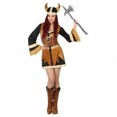 Carnaval/feest vikingen/noormannen verkleedoutfit voor damescarnavals