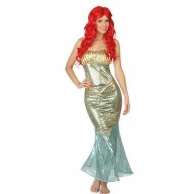 Carnaval/feest zeemeerminnen verkleedoutfit voor damescarnavalskledin