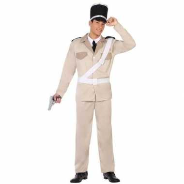 Carnaval franse politie verkleedkleding voor volwassenencarnavalskled