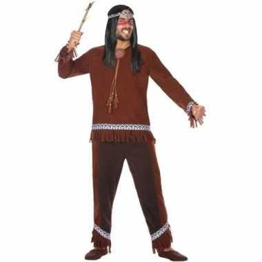 Carnaval indiaan verkleedkleding choctaw voor herencarnavalskleding