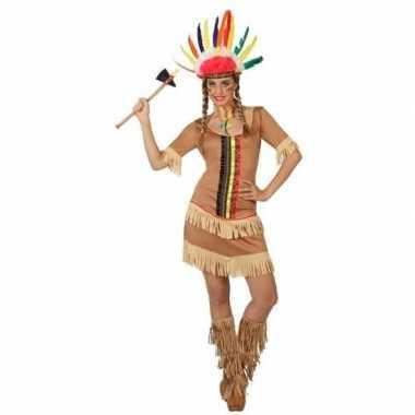 Carnaval indiaan verkleedkleding manipi voor damescarnavalskleding