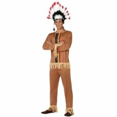 Carnaval indiaan verkleedkleding pallaton voor herencarnavalskleding