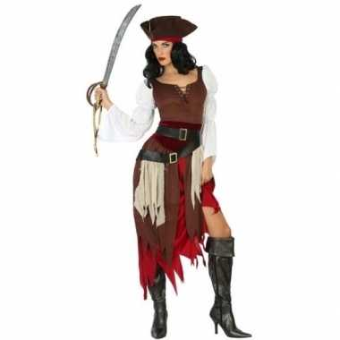 Carnaval piraten verkleedkleding francis voor damescarnavalskleding