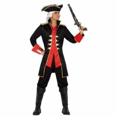 Carnaval piraten verkleedkleding jas kapitein william voor herencarna
