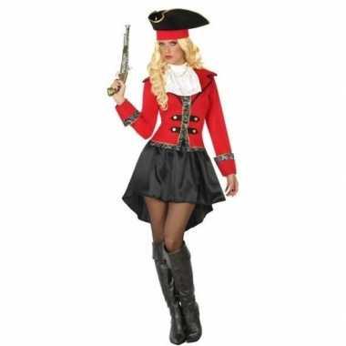 Carnaval piraten verkleedkleding kapitein grace voor damescarnavalskl
