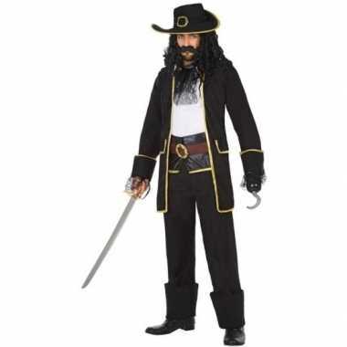 Carnaval piraten verkleedkleding kapitein thomas voor herencarnavalsk