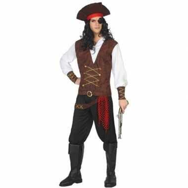 Carnaval piraten verkleedkleding lewis voor volwassenencarnavalskledi