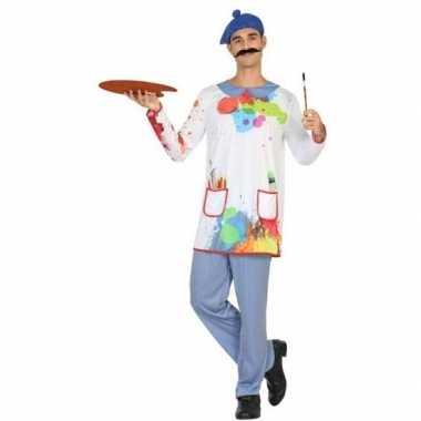 Carnaval schilder verkleedkleding voor herencarnavalskleding
